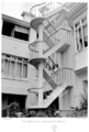 Queensland State Archives 4519 New stairway at Government House March 1955.png