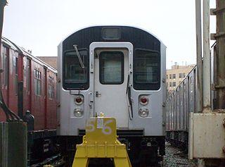 R110A (New York City Subway car) class of New York City Subway car