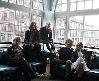 R5 (band) - Image: R5 Band Glasgow 2015