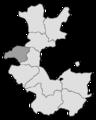 RB Minden 1832-1878 Kreiseinteilung Halle.png