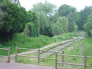 Ligne de Sceaux - Old ligne de Sceaux, between Saint-Rémy-lès-Chevreuse and Boullay-les-Troux
