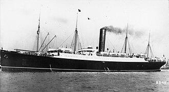 RMS Carpathia - Image: RMS Carpathia