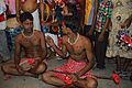 Rabin Ghughu and Ujjal Majar - Body Pierced Gajan Sannyasi - Bainan - Howrah 2015-04-14 8004.JPG