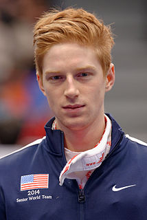 Race Imboden American fencer and model