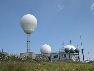 La Dôle - Image: Radar La Dole