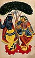 Radha and Krishna. Wellcome V0044993.jpg