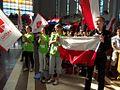 Radość wiernych po wyborze Krakowa na ŚDM 2016 (9531238610).jpg