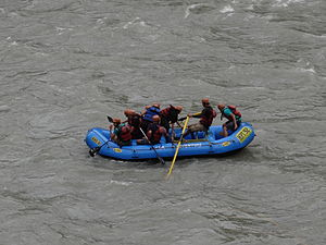 Rafting - Rafting in Himachal Pradesh, India