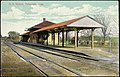 Railroad Station, Falmouth, Mass. - No. 15381.jpg