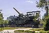 Railway artillery gun TM-3-12 in the Great Patriotic War Museum 5-jun-2014.jpg