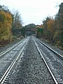 Railway line and bridge - geograph.org.uk - 281599.jpg