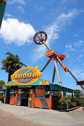 Rainbow's End (theme park) - Rainbow's End Stratosfear - Extreme