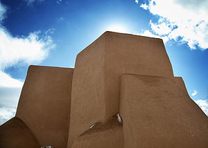 Ranchos de Taos, New Mexico - San Francisco de Asis Church, Ranchos de Taos