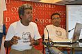 Rangan Datta and Partha Sarathi Banerjee - Interactive Session - Wikilearnopedia - Oxford Bookstore - Kolkata 2015-08-23 3773.JPG