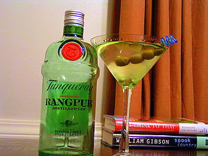 Tanqueray - A bottle of Tanqueray Rangpur gin.