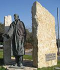 テルアビブのワレンバーグ通りにある彫像