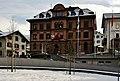 Rathaus Ilanz, Neurenaissance-Anlage, erbaut 1892 als Schulhaus , heutiger Bau bis 1970 Schulhaus - panoramio.jpg