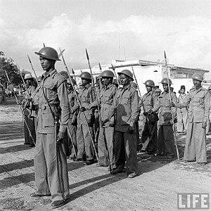 Razakars (Hyderabad) - Razakars during Operation Polo