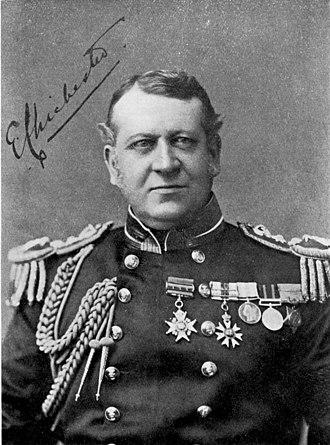 Chichester baronets - Rear-Admiral Sir Edward Chichester, 9th Baronet (1849-1906)