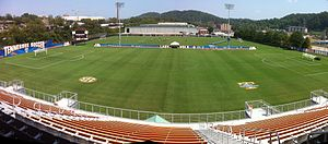 Tennessee Volunteers - Regal Stadium field