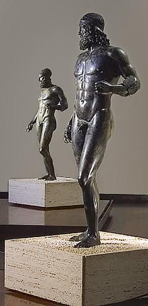Riace bronzes - Image: Reggio calabria museo nazionale bronzi di riace