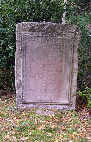 Reginald Ruggles Gates - The grave of Reginald Ruggles Gates in Brookwood Cemetery