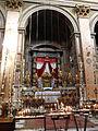 Regola Trinità dei Pellegrini interno giovedì santo P1000890 altare della reposizione.JPG
