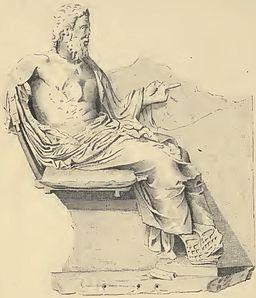 Relief des Sitzenden Asklepeos