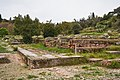Remains of the Old Bouleuterion and Metroon in the Ancient Agora of Athens on March 23, 2021.jpg