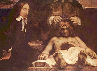 The Anatomy Lesson of Dr. Nicolaes Tulp - Rembrandt: The Anatomy Lesson of Dr. Deijman (1656)