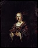 Rembrandt Portrait of a Woman with a Fan.jpg