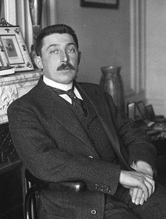 René Besnard - Besnard in 1914