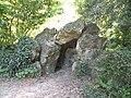 Rennes ParcOberthur grotte.jpg