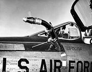 Republic F-105D-6-RE (SN 58-1762) refueling probe detail 060901-F-1234S-006