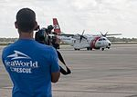 Rescued manatee at Orlando International Airport (1).jpg