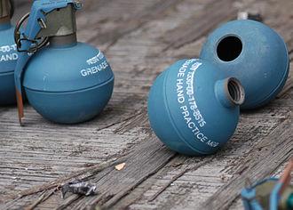 M67 grenade - M69 training grenades