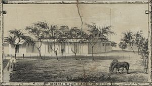 Richard Charlton - Residence of the British Consul in Honolulu. This would later become the home of his successor William Miller.
