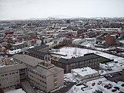 Reykjavík séð úr Hallgrímskirkju 6