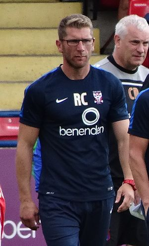 Richard Cresswell - Cresswell as a coach with York City in 2015