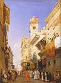 Richard Parkes Bonington - Corso Sant'Anastasia, Verona - Google Art Project.jpg