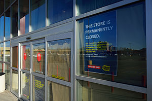 Future Shop - A closed Future Shop store in Richmond Hill in May 2015.