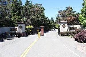 Richmond Country Club - Richmond Country Club front gate