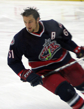 Rick Nash - Nash with the Columbus Blue Jackets during the 2006–07 season