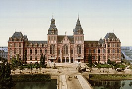 Het Rijksmuseum rond 1895
