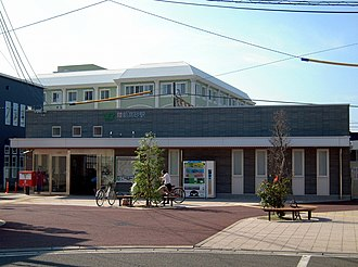 Rikuzen-Takasago Station - Rikuzen-Takasago Station, July 2011