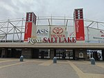 Rio Tinto Stadium entrance, Apr 16.jpg