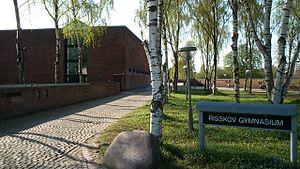 Vejlby - Image: Risskov Gymnasium 2