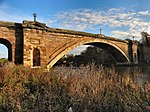 River Dee, Grosvenor Bridge near to Handbridge, Cheshire, Great Britain.jpg