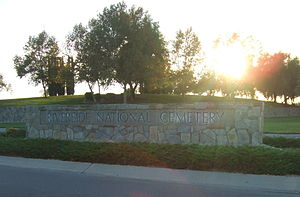 Riverside National Cemetery Entrance 20091023.jpg