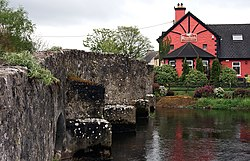 The bridge at Riverstown on the Little Brosna
